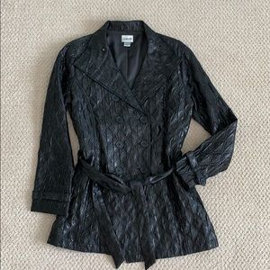 Chico's shimmering Black Jacket